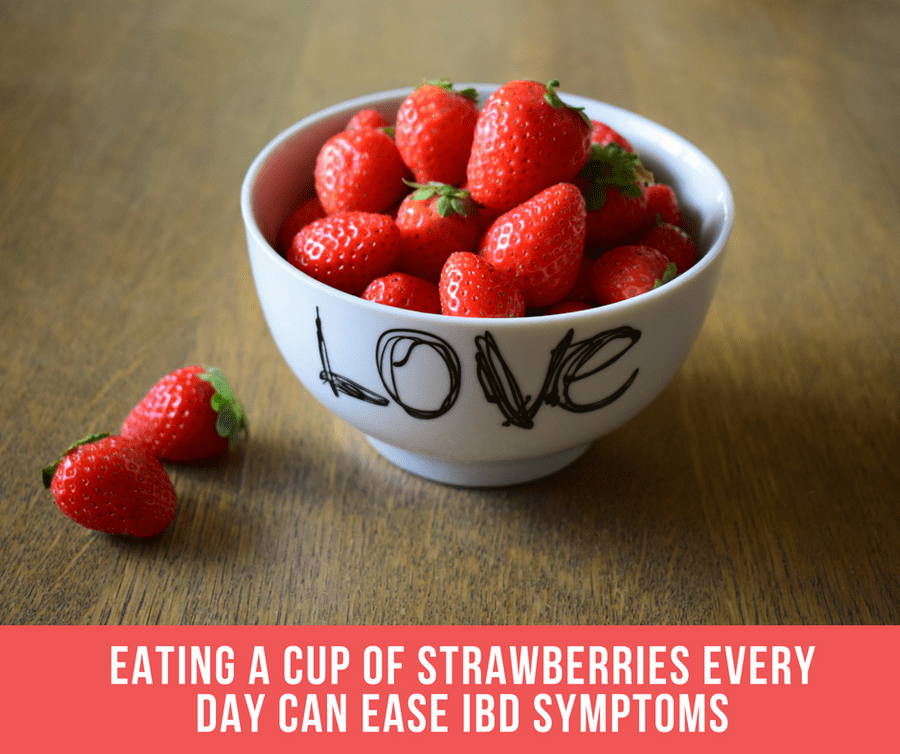 Eating A Cup Of Strawberries Every Day Can Ease IBD Symptoms