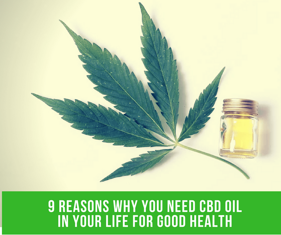 9 Reasons Why You Need CBD Oil In Your Life For Good Health