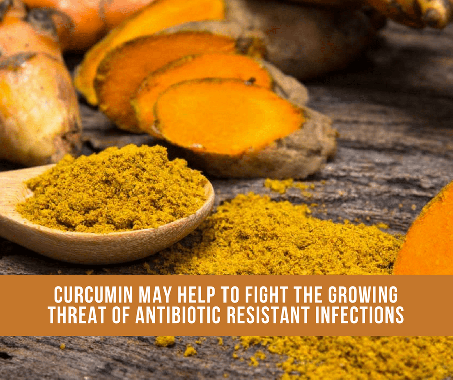 Curcumin May Fight The Growing Threat Of Antibiotic Resistant Infections