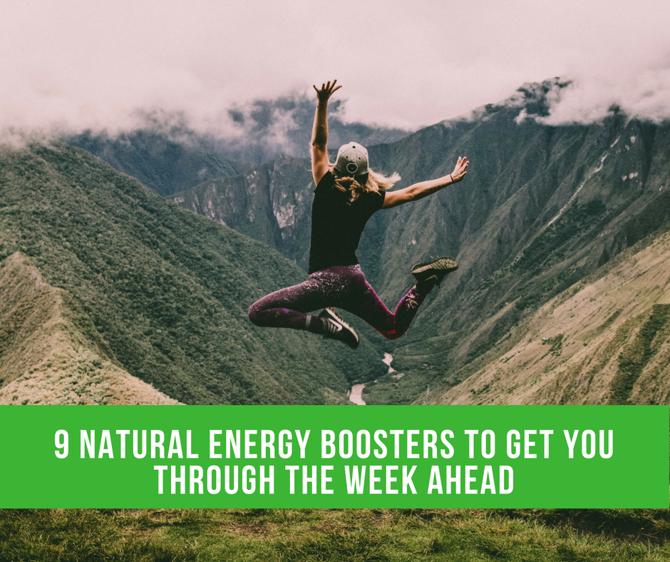 9 Natural Energy Boosters To Get You Through The Week Ahead