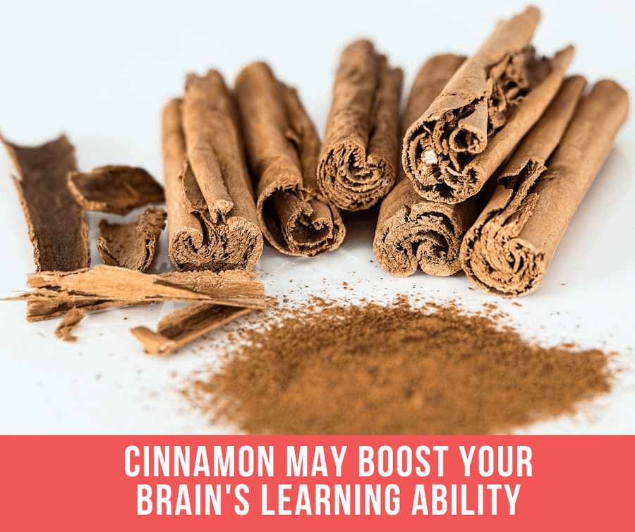 Cinnamon May Boost Your Brain's Learning Ability