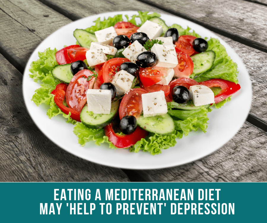 Eating A Mediterranean Diet May 'Help To Prevent' Depression