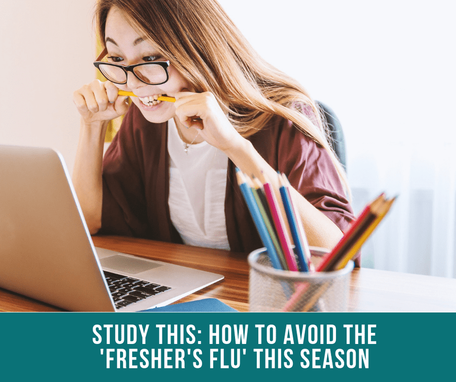 Study This: How To Avoid The 'Fresher's Flu' This Season
