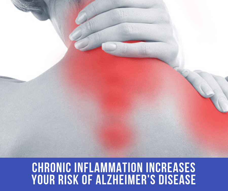 Chronic Inflammation Increases Your Risk Of Alzheimer's Disease