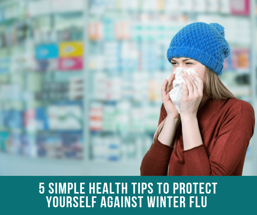 5 Simple Health Tips To Protect Yourself Against Winter Flu