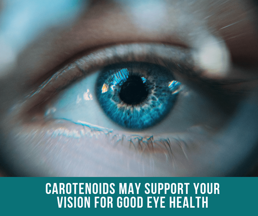 Carotenoids May Support Your Vision For Good Eye Health