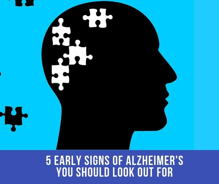 5 Early Signs Of Alzheimer's You Should Look Out For…