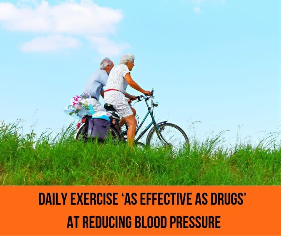 Daily Exercise 'As Effective As Drugs' At Reducing High Blood Pressure