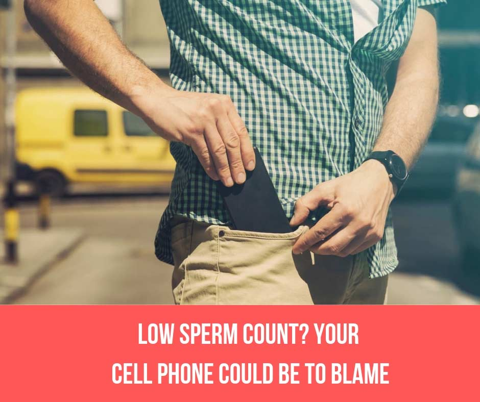 Low Sperm Count? Your Cell Phone Could Be To Blame