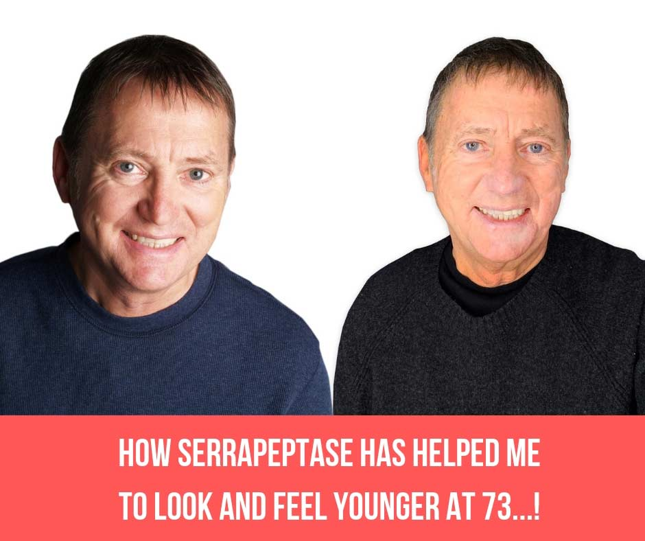 10 Year Challenge Accepted…! How Serrapeptase Has Helped Me To Look And Feel Younger At 73…