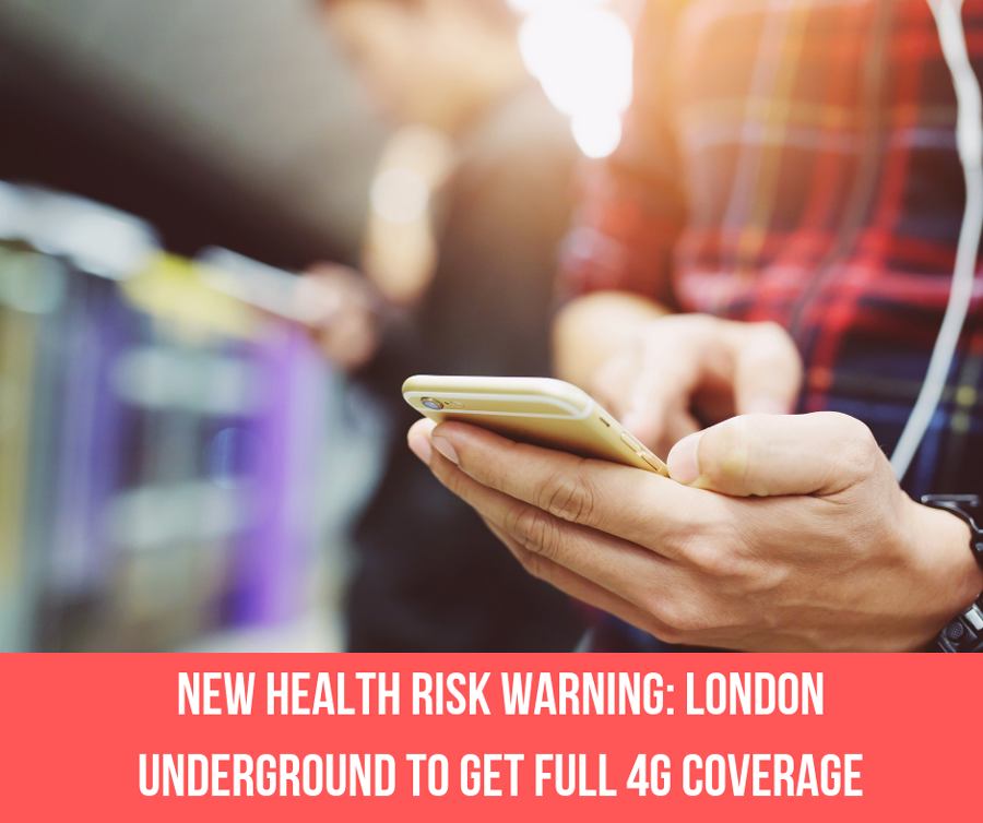 New Health Risk Warning: London Underground To Get Full 4G Coverage