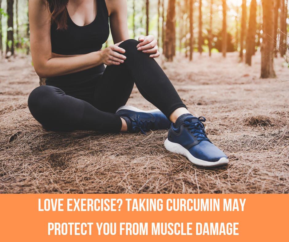 Love Exercise? Taking Curcumin May Protect You From Muscle Damage