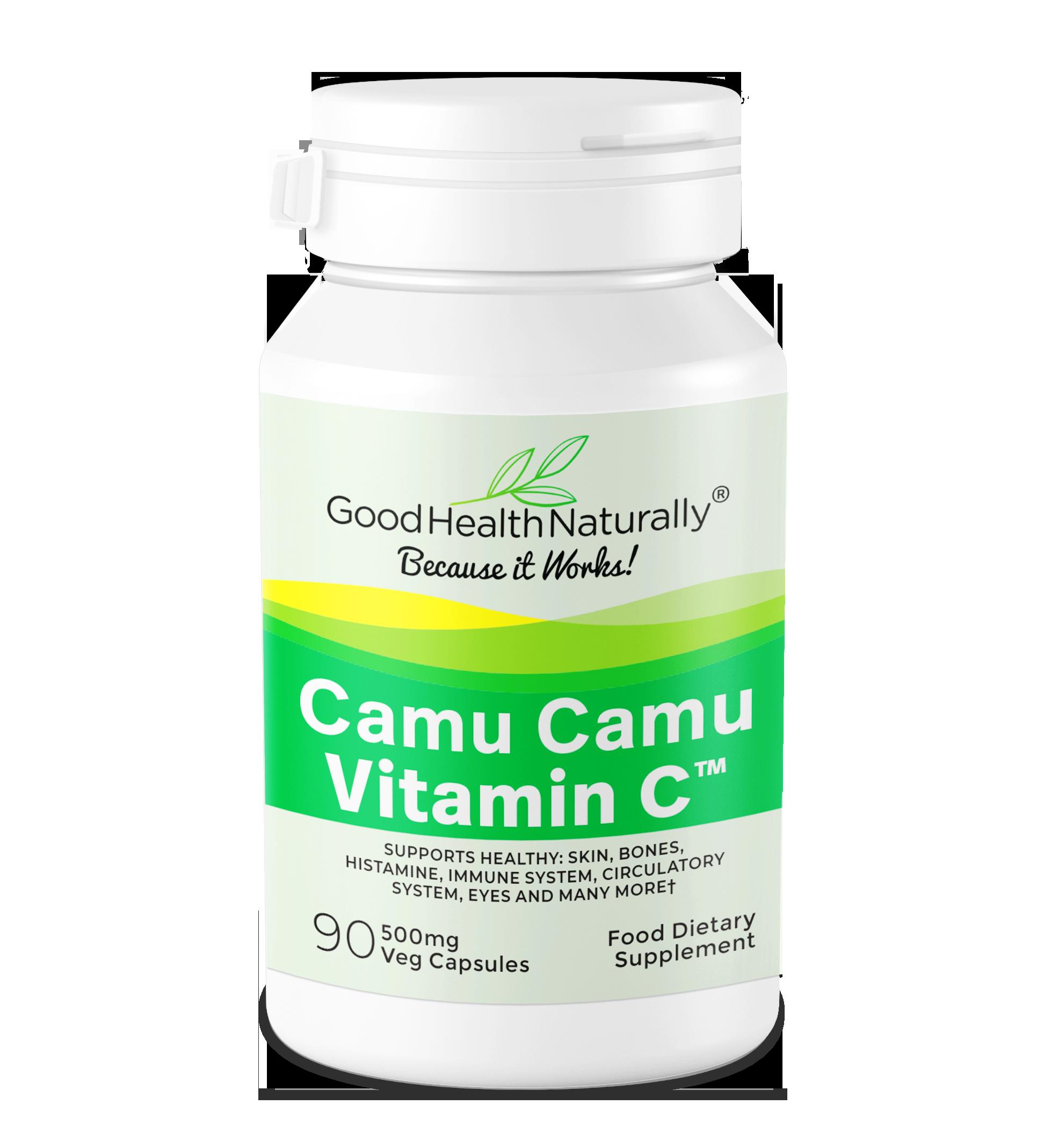 Vitamin C Camu Camu 500mg