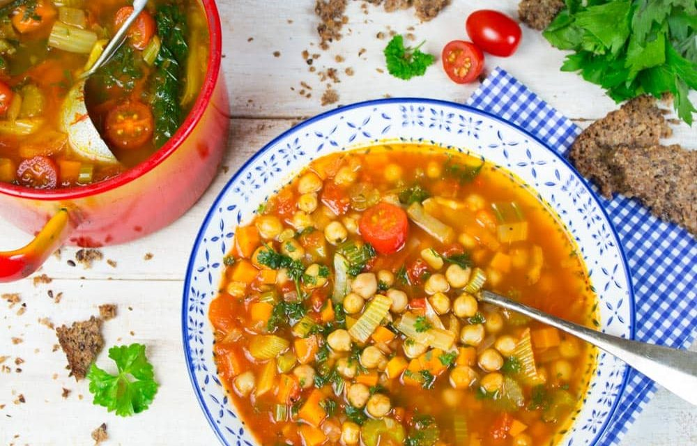 Italian Garbanzo Bean Soup