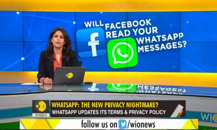WION – Will Facebook Read Your Whatsapp Messages?