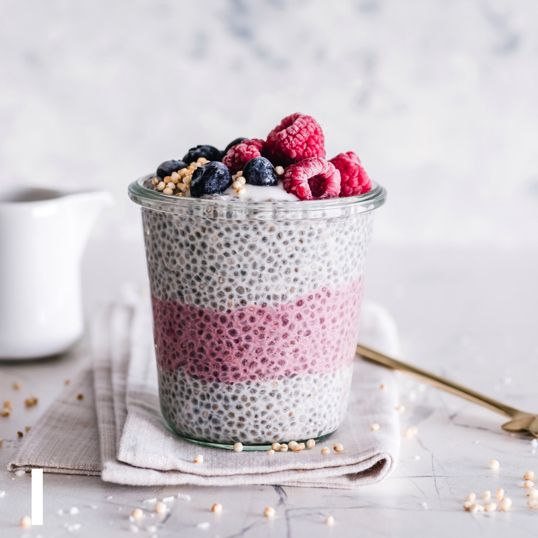 Berry Chia Seed Breakfast