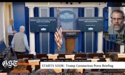 White House Press Corps – Trump Press Briefing
